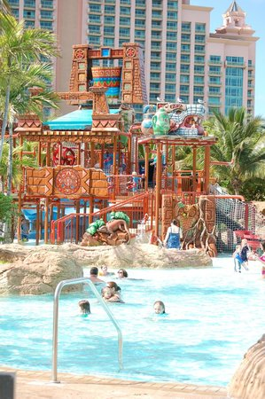 The Reef Atlantis:                   Water park area for kids