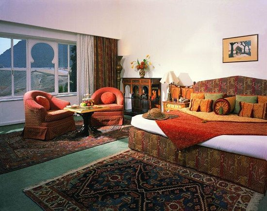 Mena House Hotel: Deluxe Palace, Pyramids View Room