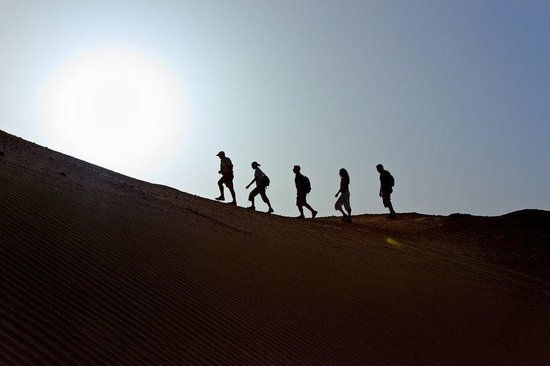 Sir Bani Yas Island, Zjednoczone Emiraty Arabskie: Desert Hiking
