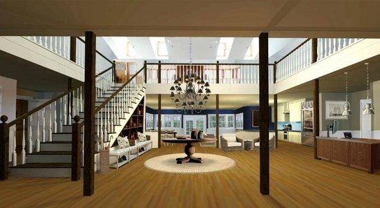 Sanderling Resort: Beach House Lobby