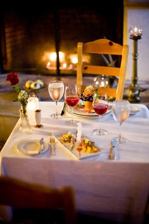 South Sterling, เพนซิลเวเนีย: Romantic Dinners by the fire