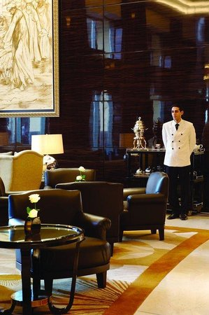 Fairmont Cairo, Nile City: Onyx Lounge, Lobby Lounge