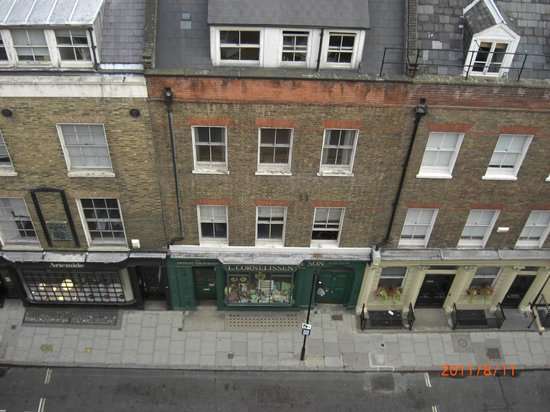 The Bloomsbury Hotel London: our view from the top floor