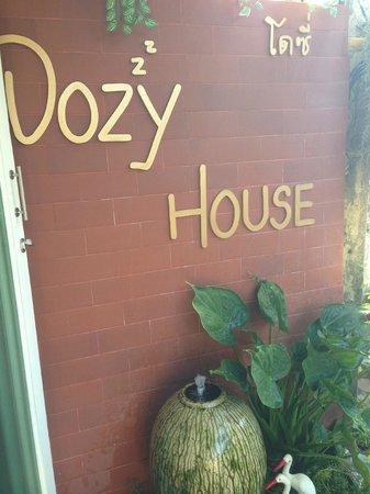 Dozy House:                   Front entrance