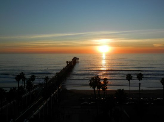 Wyndham Oceanside Pier Resort:                   View from hotel observation deck
