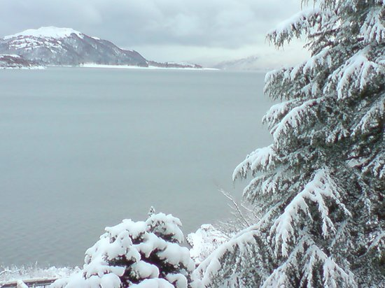 North Ballachulish, UK: Winter Wonderland at Highland View