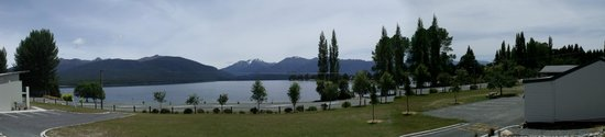 Te Anau Lakeview Holiday Park: View of the lake
