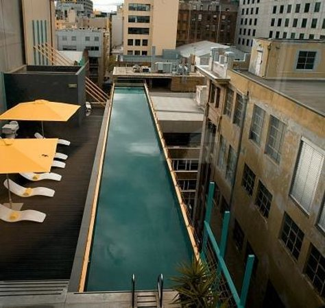 Adelphi Hotel: Pool Deck