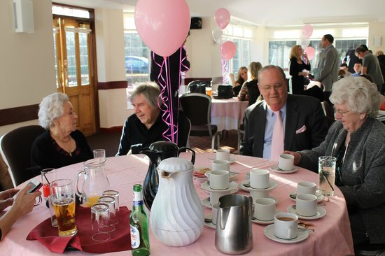 Lathom, UK:                                     Lovely room, great 90th Birthday Party