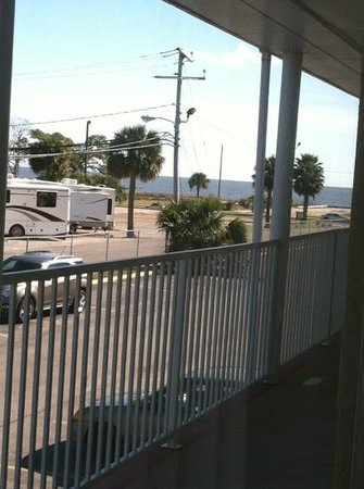Super 8 Motel - Biloxi: view of gulf from room