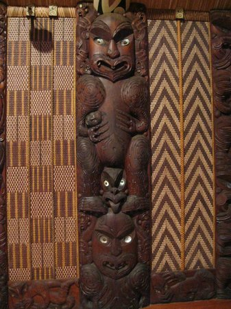 Paihia, New Zealand: Inside the marae