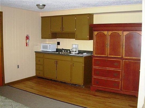 Red Carpet Inn On The Lake: kitchenette