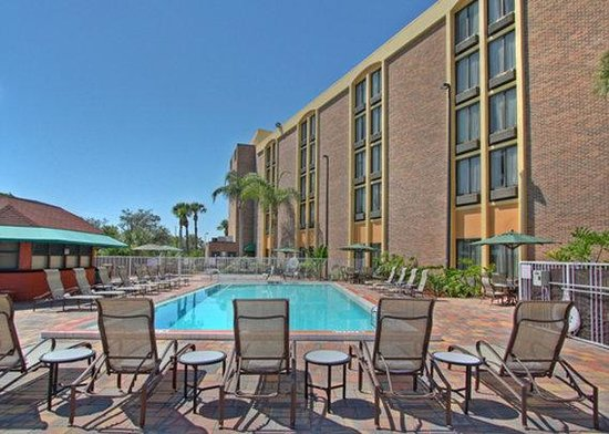 Comfort Inn Maingate: Outdoor Pool and sun deck