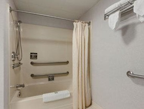 Travelodge Sturtevant/Racine: ADA Bathroom