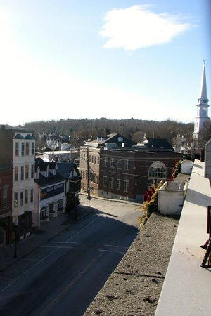 Downtown Camden from our balcony
