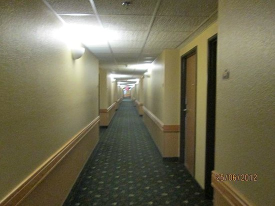AmericInn Lodge & Suites Calumet:                   Hallways clean, well lit