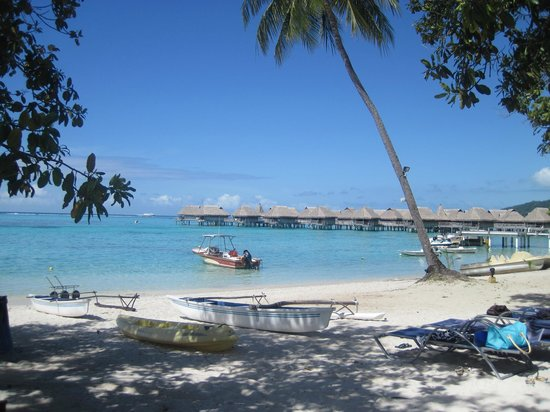 Sofitel Moorea Ia Ora Beach Resort:                   beach & OWB