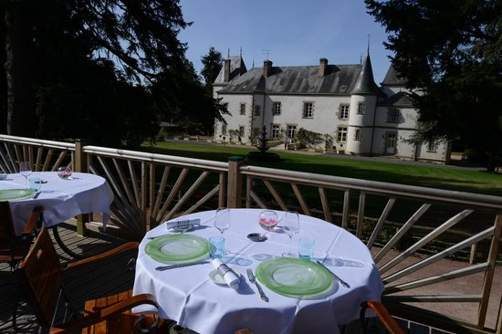 Chambretaud, Frankreich: Vu de la terrasse