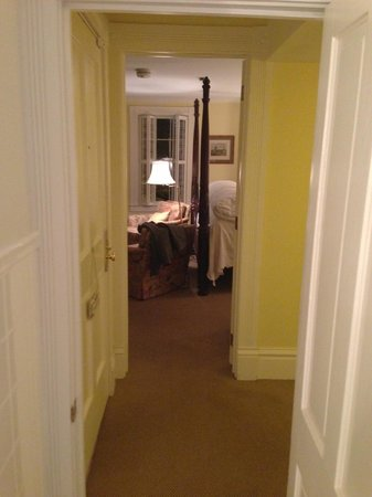 The Willcox:                   Room through from bathroom