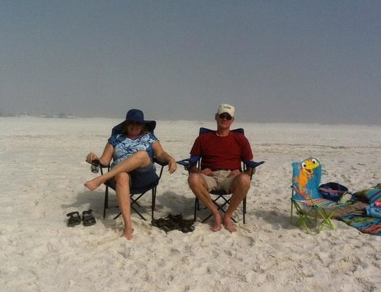 Pensacola Beach:                                     Wish we'd discovered this place years ago!