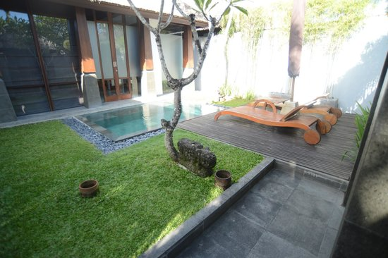 The Kayana Bali: view from garden