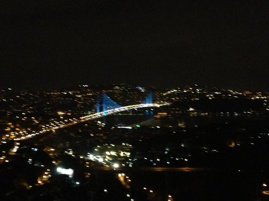 Renaissance Istanbul Bosphorus Hotel:                   View from top roof bar