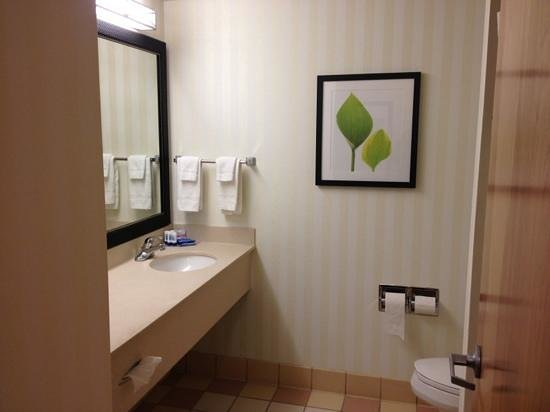Fairfield Inn Sandusky: our suite
