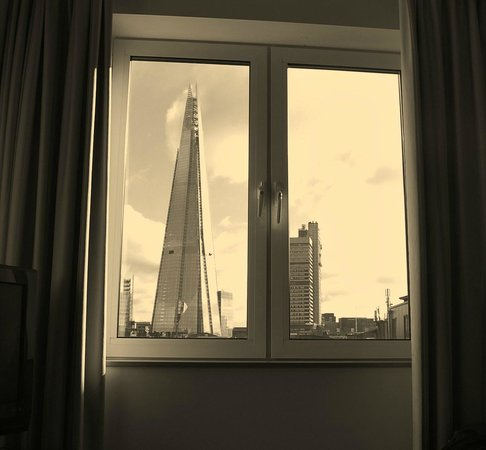 Novotel London City South:                                     the Shard
