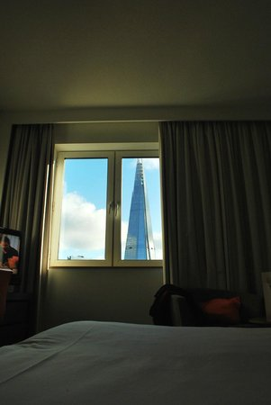 Novotel London City South:                                     View from our room...