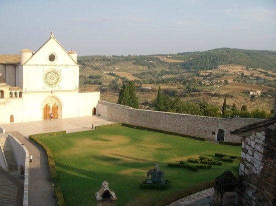 San Francesco: View from the roof-top terrace