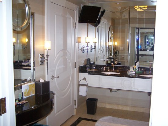 The Palazzo Resort Hotel Casino: Hotel Bathroom