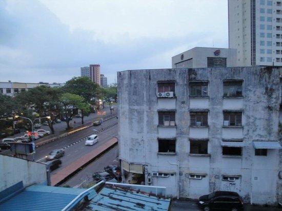 Batik Boutique Hotel: View from rear window of 3rd floor Courtyard Suite - King