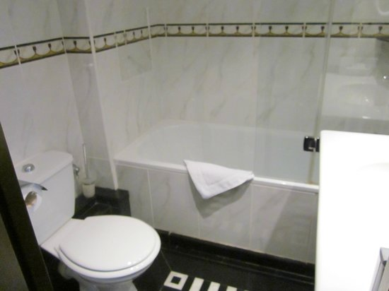 Hotel Les Jardins du Marais:                   Bathroom