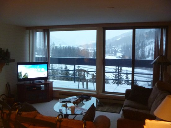 Simba Run Vail Condominiums:                   View from our unit on the 5th floor