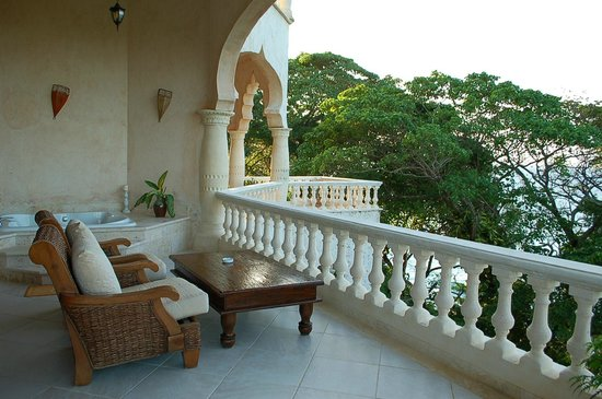 The Palace at Playa Grande:                   balcony