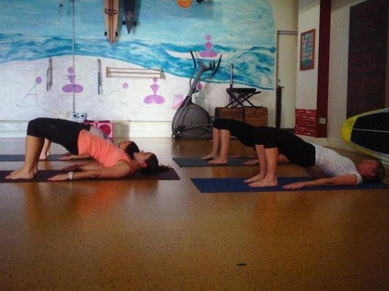 St Petersburg FL Bridge Pose For A Strong Core At The Yoga Energy