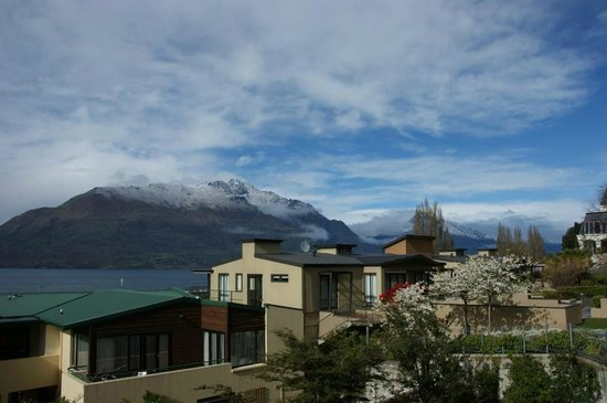 Hotel St Moritz Queenstown - MGallery Collection:                   View across the lake from our balcony