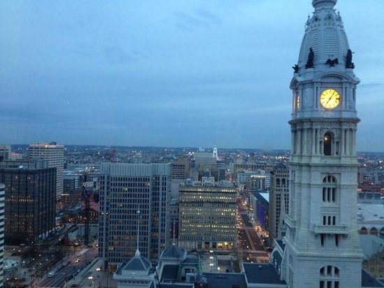 Ritz-Carlton Philadelphia:                   Great view of City Hall from the room