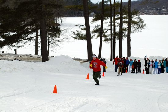 Woodloch Pines Resort:                   Family Winter Olympic Games with 6 snow events!