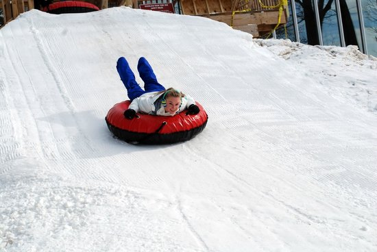 Woodloch Pines Resort:                   Snow tubing -  Woodloch has snow making capabilities