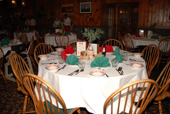 Woodloch Pines Resort:                   Dinning Area