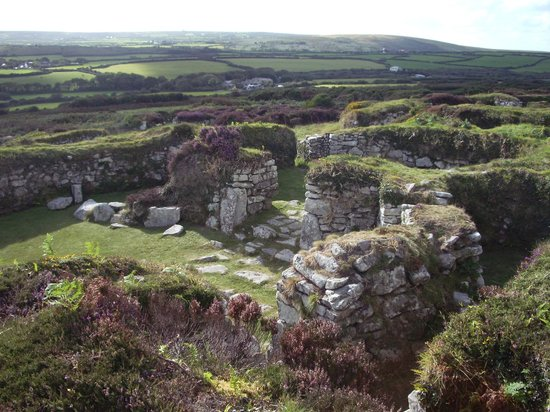 Photos of Chysauster, Cornwall
