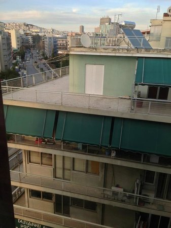 Crowne Plaza Hotel - Athens City Centre:                   View from room