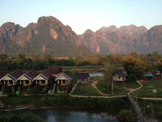 Domon Guesthouse: the view from balcony