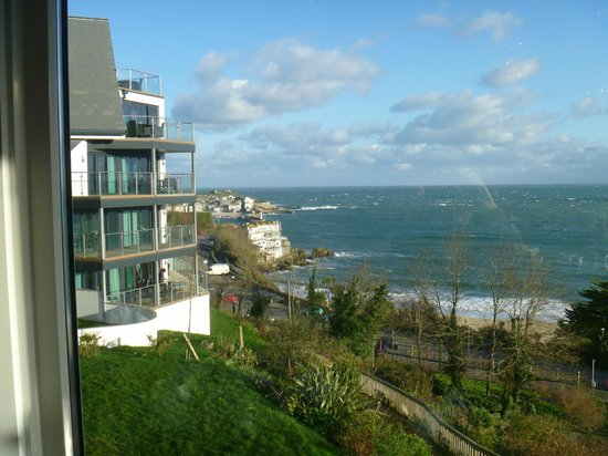 St. Ives Harbour Hotel & Spa:                   view from hotel