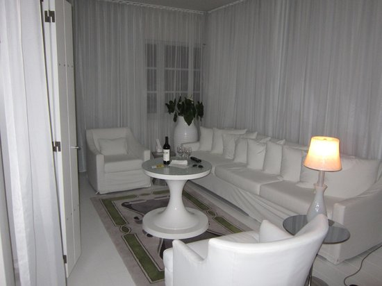 Delano South Beach: Sitting room