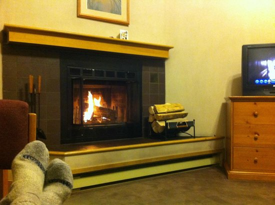The Vintage Resort Hotel & Conference Center:                   Fireplace