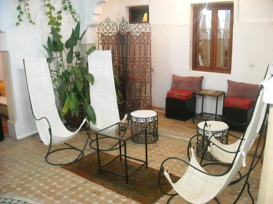 Riad Les Jardins Mandaline:                   salon