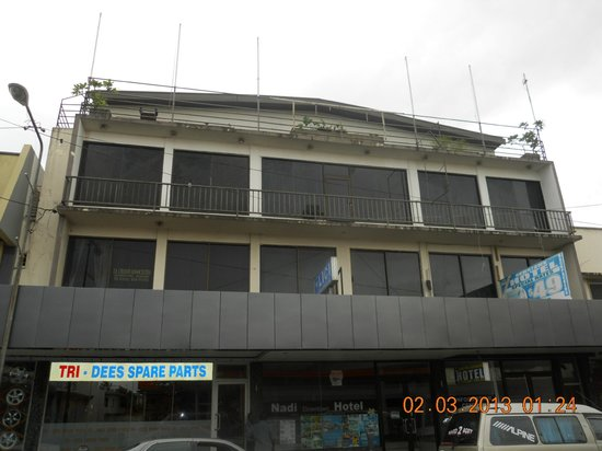 Nadi Downtown Hotel: storefront exterior