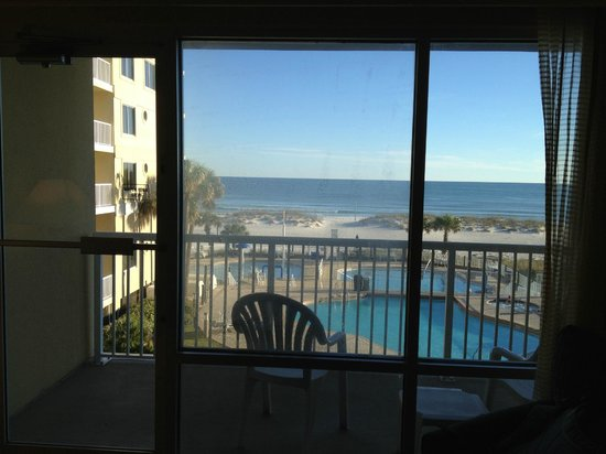 Television In Bedroom Picture Of Springhill Suites Pensacola Beach Pensacola Beach Tripadvisor